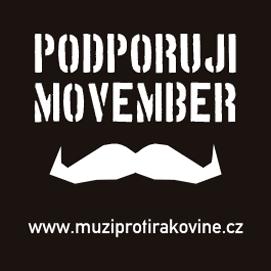 Podporuji Movember logo